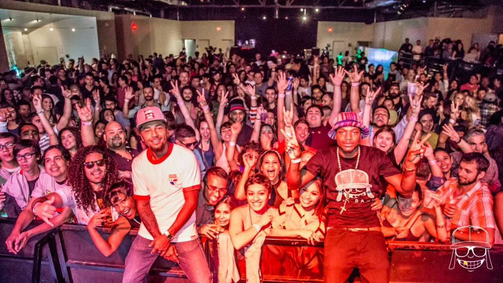 Los Rakas on the road with Red Bull Panamerika & Bomba Estereo in Texas this past September!